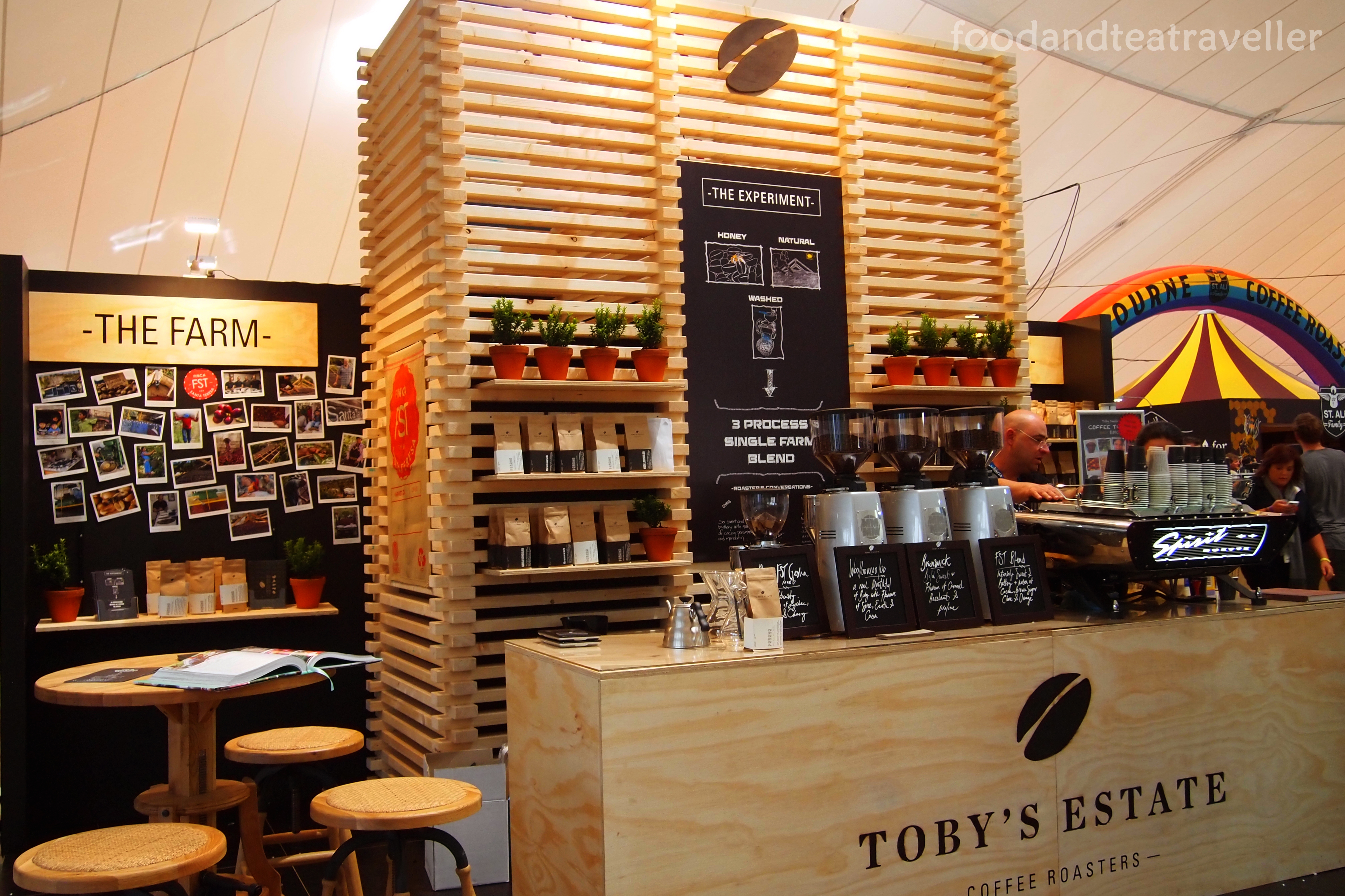 Food Exhibition Stall : Melbourne international coffee expo foodandteatraveller